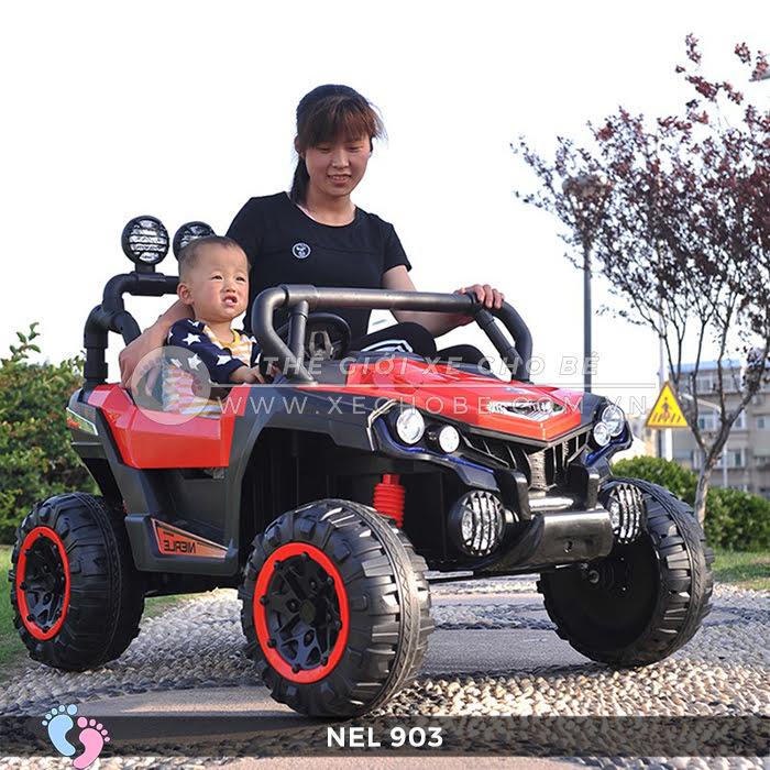 Xe ô tô điện địa hình NEL-903 4 động cơ 2