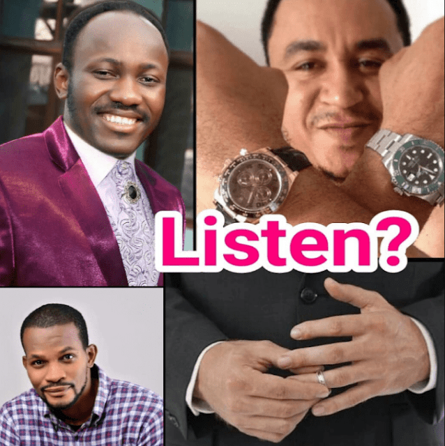"""Nigerians Will Listen To You On Tithes If You Fix Your Marriage"" Uche Maduagwu To Daddy Freeze"