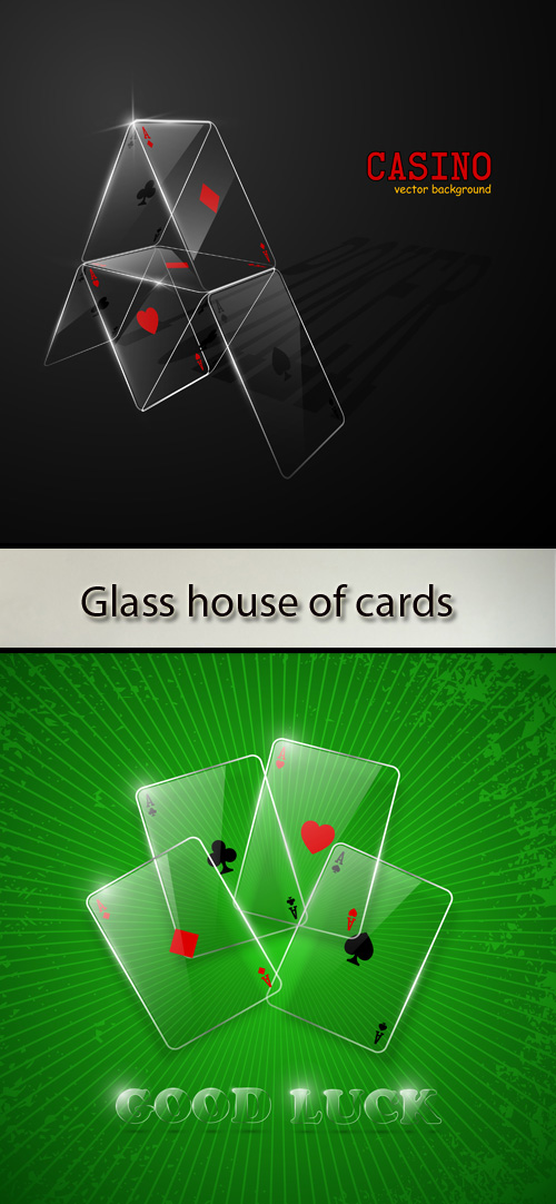 Stock: Glass house of cards