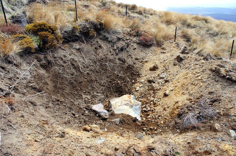 Ergebnisanalyse: Kraterlandschaft