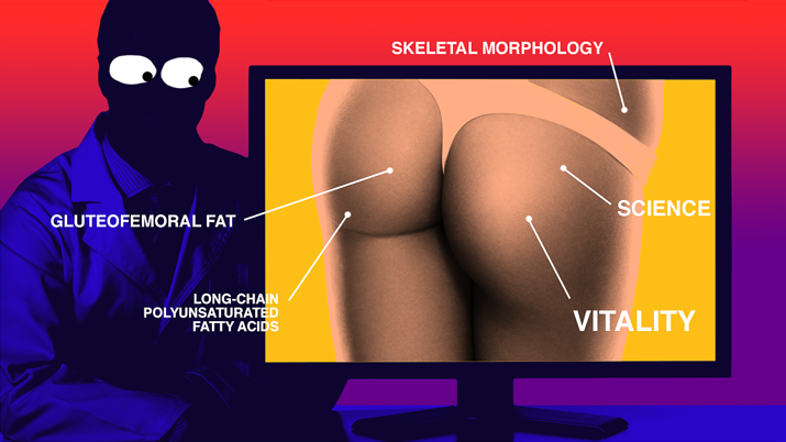 Why do men like booty