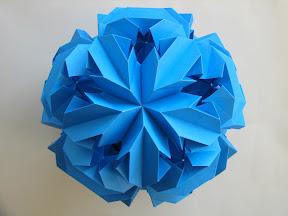 Chrysanthemum by Leroy: http://www.origamee.net/diagrams/ChrysanthemumLeroy.pdf