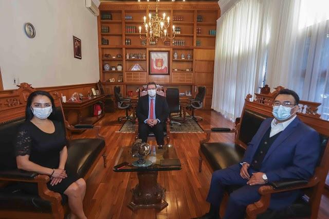 Garantiza Presidenta del Congreso del Estado trabajo coordinado entre poderes
