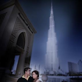 Michelle & Morris at High by Jhim Abucayon - People Couples ( dubai, burj khalifa )