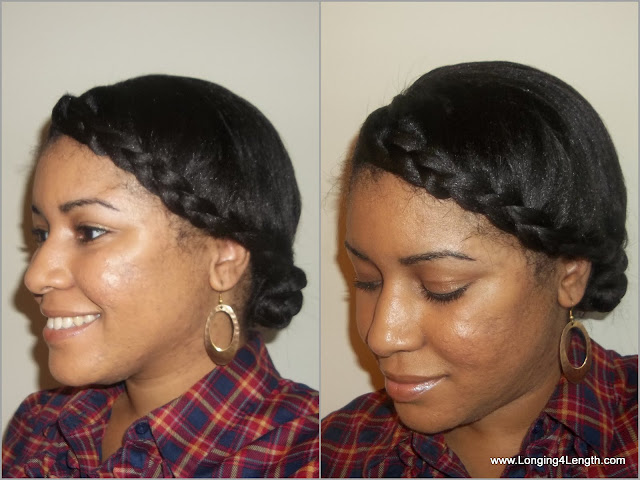 EbonyCPrincess Braided Headband