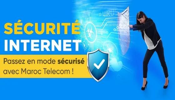 سعر إشتراك Kaspersky مع إتصالات المغرب Sécurité internet
