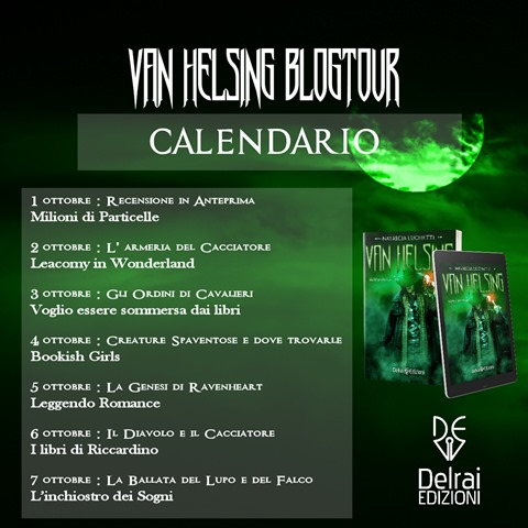 Van Helsing Blogtour