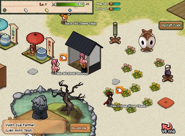 Soi webgame Hime Garden trước ngày ra mắt 5
