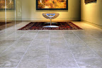 Honed Hope Bay Limestone Tile Floor