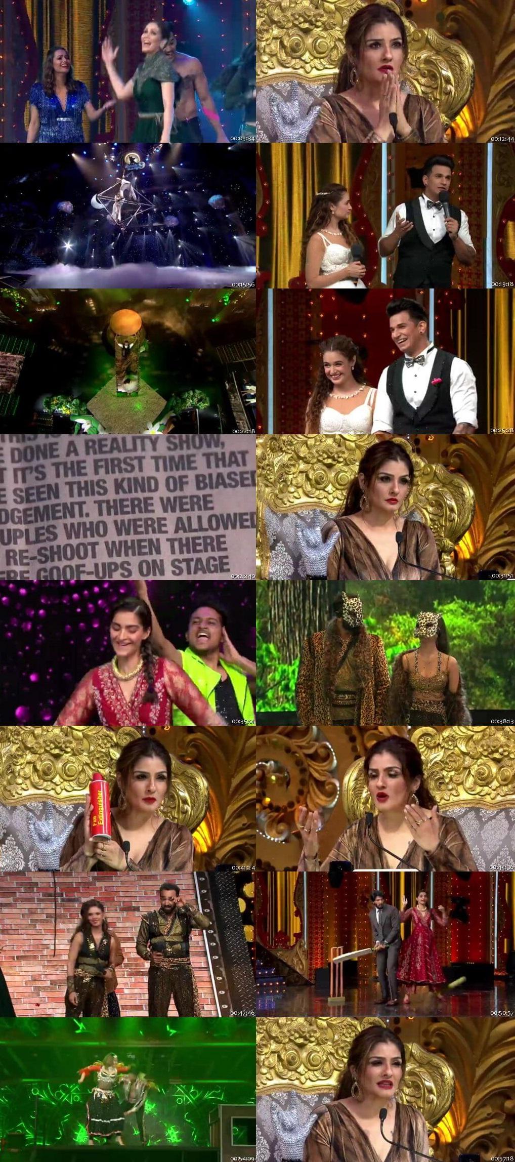 Screenshots Of Hindi Show Nach Baliye Season 9 15th September 2019 Episode 18 300MB 480P HD