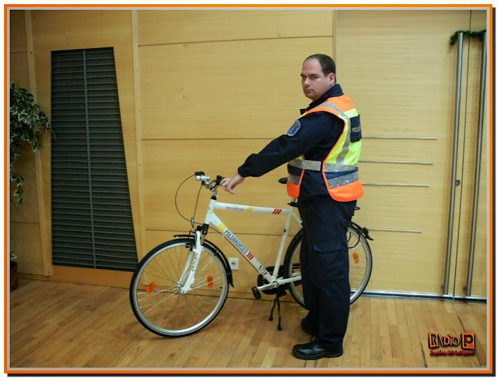 Szolgálati kerékpárokat adott át a Borsod Megyei Polgárőr Szövetség