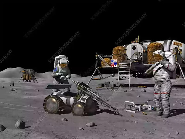 build a Lunar Base 1