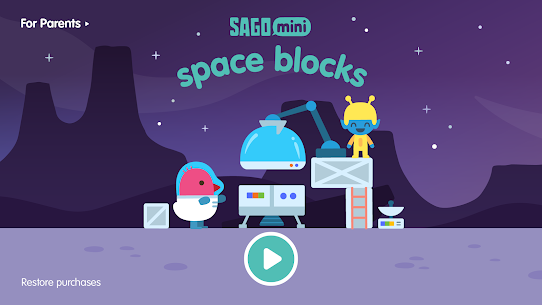 Sago Mini Space Blocks 1