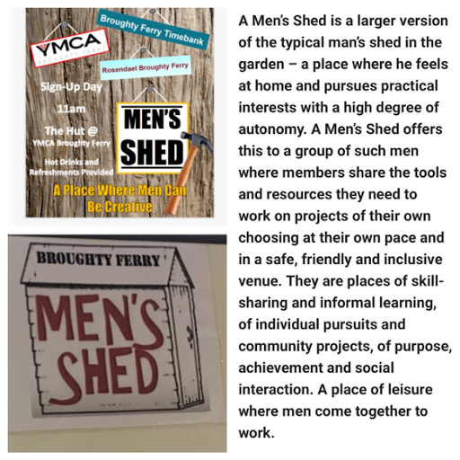 Launch of Broughty Ferry Men's Shed Saturday 28 January 2017