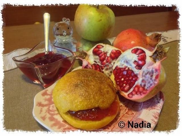 confettura di melograno e mele