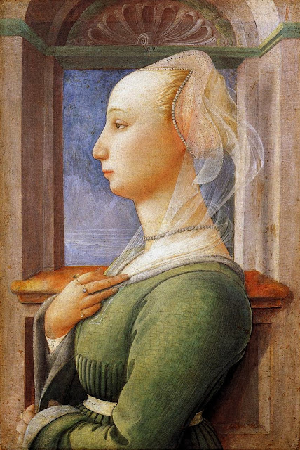 Filippino Lippi - Portrait of a Woman