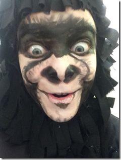 Maquillaje de gorila (5)