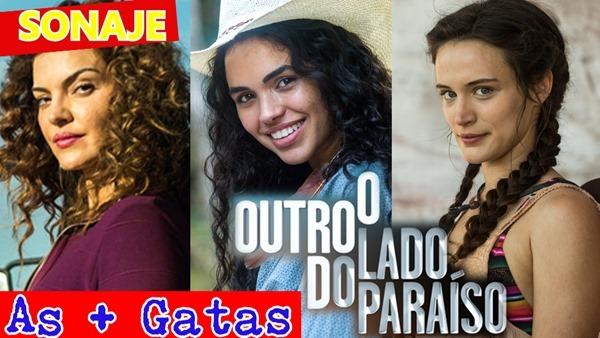 atrizes mais lindas da novela o outro lado do paraíso