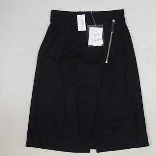 Acne Studios NEW Navy Blue Panna Skirt