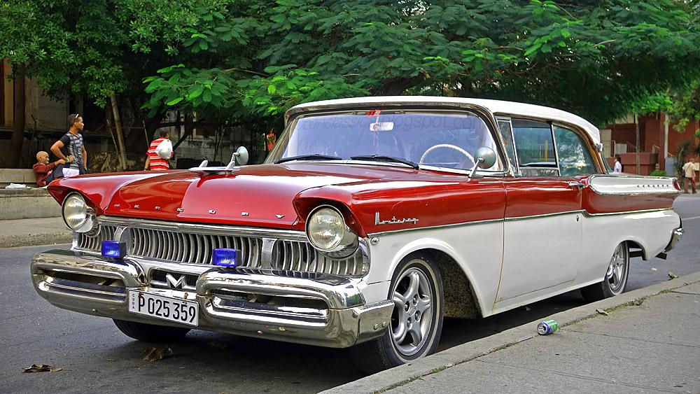 1957 Mercury Monterey Phaeton Coupe CUBANCLASSICS