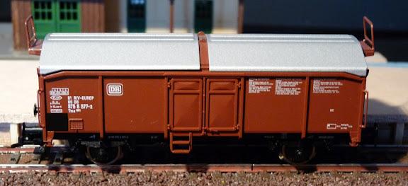 Fleischmann 5333: Schuifdakwagen