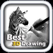 100 best 3D drawing