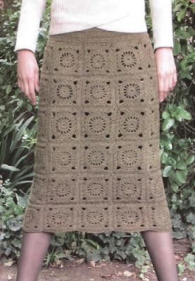 9bdb43fd9 Falda de alpaca tejida a crochet como tejer una falda a crochet