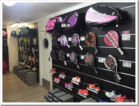 Nueva tienda de pádel con pista de prueba en Tres Cantos de la mano de Padel Nuestro.