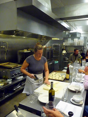 Caprial + John's Sunday Supper Tuesday cooking class making biscuits