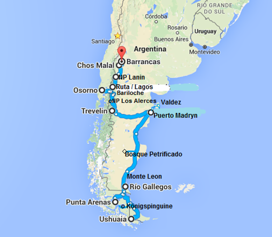 Ushuaia - Barrancas