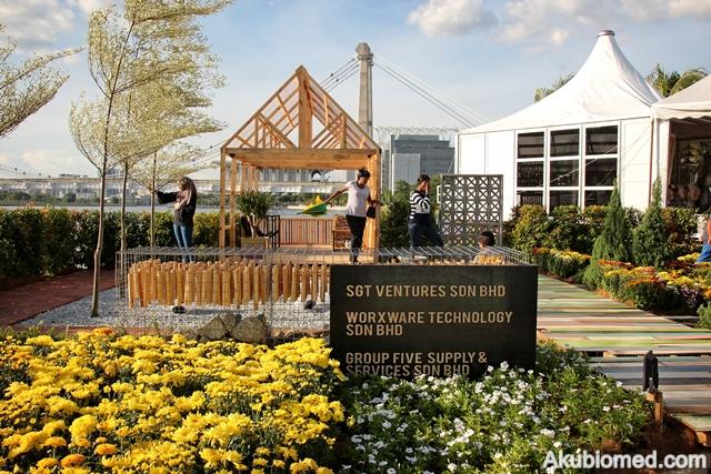 Dekorasi SGT Ventures Sdn Bhd Group Five Supply & Services Sdn Bhd Waorxware Technology Sdn Bhd bertemakan Green Traingle Gardens