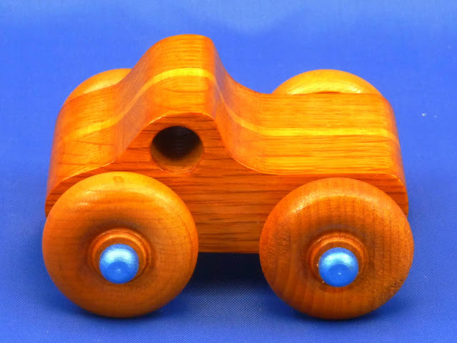 Handmade Wood Toy Monster Truck Based On The Play Pal Pickup
