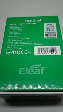 DSC 1432 thumb%25255B2%25255D - 【MOD】「Eleaf iStick Pico Dual MOD」デュアルバッテリー&モバブー!レビュー。大型アトマも搭載できるPico拡張機【モバイルバッテリー/VAPE/電子タバコ】
