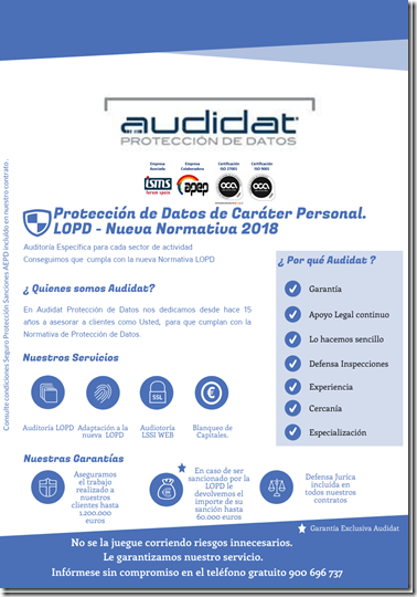 Empresa Protección Datos Alicante