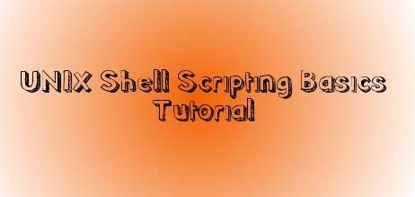 unix shell scripting basics