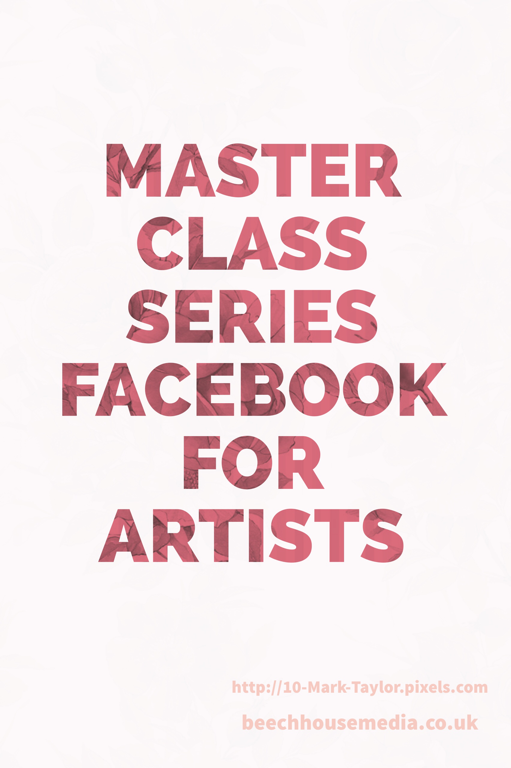 Facebook master class free marketing advice for artists