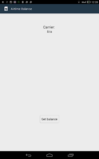 Airtime Balance South Africa