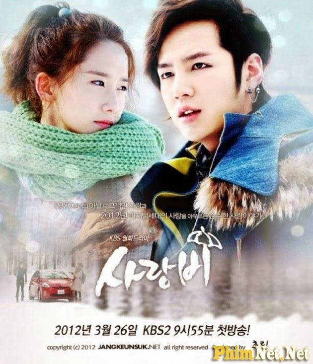Phim Tình Yêu Trong Mưa - Love Rain - Wallpaper