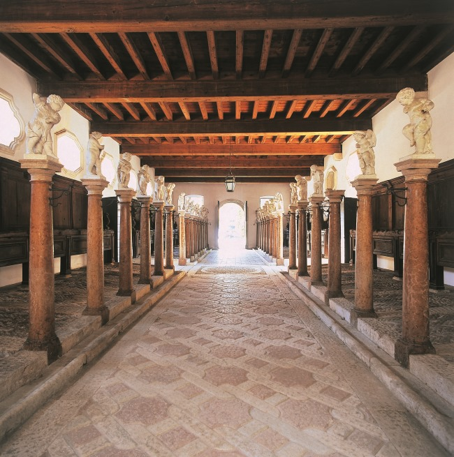 The stables of Castello di Thiene - Italy