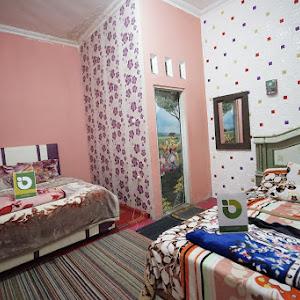 Comfy Twin Bed @ Lidah Buaya Room