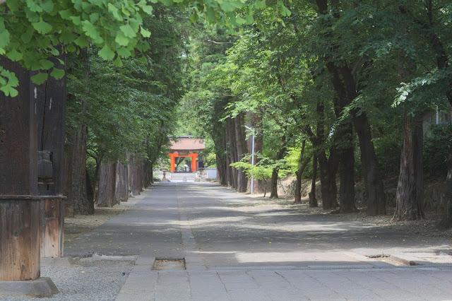 恵林寺 入り口