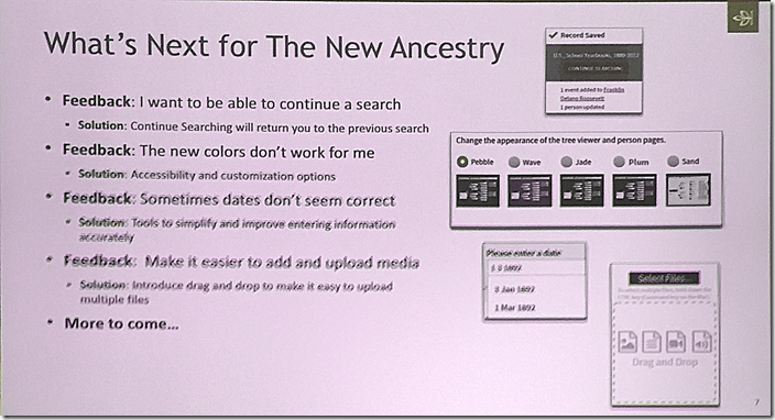 What's Next for the New Ancestry in 2016