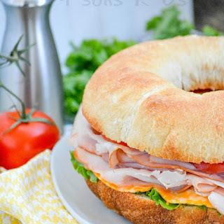 Cold Cut Bundt Pan Sub Sandwich.