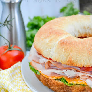 Cold Cut Bundt Pan Sub Sandwich.