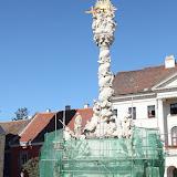 2011.08.09 Szt-Háromság szobor felújítás