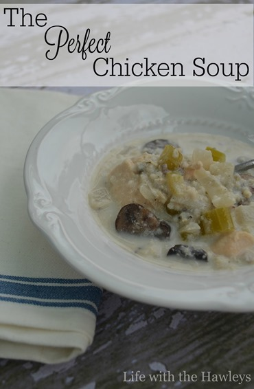 The Perfect Chicken Soup