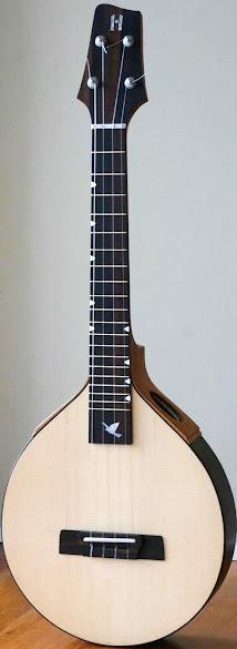 Jerry Hoffmann Luthierie A Series Custom Tenor Ukulele