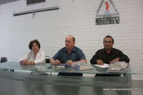 Mesa directiva del Consejo de la Historia y Cultura Sabinas Hidalgo