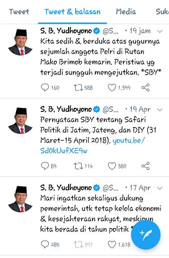 Mantan Presiden SBY Sedang Bersedih,Ini Penyebabnya