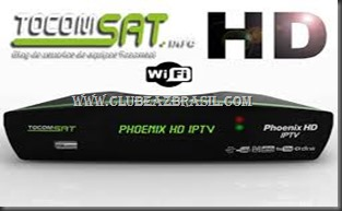TOCOMSAT PHOENIX IPTV HD